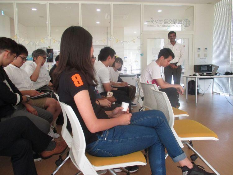 アンナマライ大学 客員研究員がインドについて講話