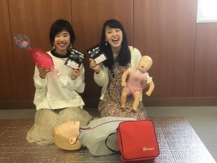 薬学部生2名がアメリカ心臓協会のBLSインストラクターに!