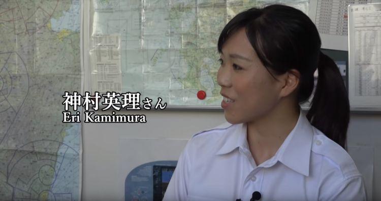 未来の女性パイロットがSAKURA TVに出演